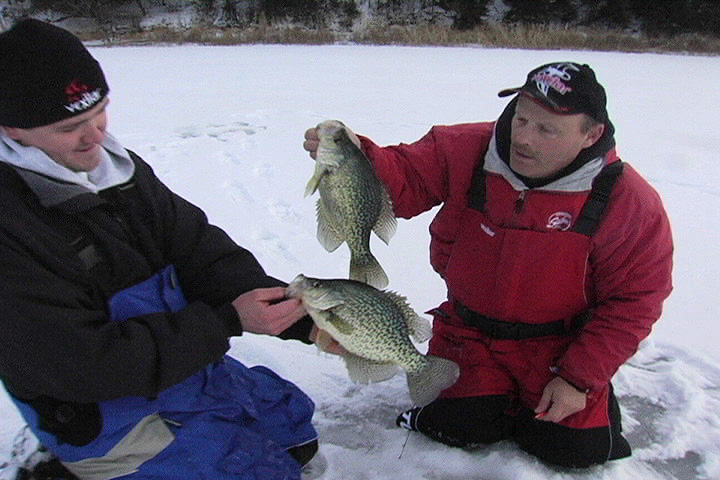 Ice Fishing Videography